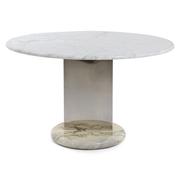 Calacatta-Marmor Tisch, Italien 20. Jahrhundert
