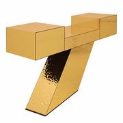 Konsole Goldener Schnitt / 5 : 8,09 von Roger Schlemer, 2015