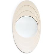 Ovaler Spiegel, Italien Mitte 20. Jahrhundert