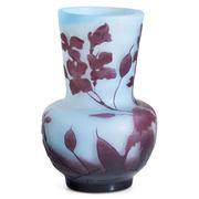 Gallé Vase, Frankreich, Anfang 20. Jahrhundert