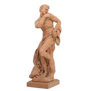 Satyr Skulptur nach Barockem Vorbild, 19./20. Jhd.