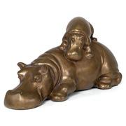 Gabriella Crespi, Hippopotamus, Mailand um 1973