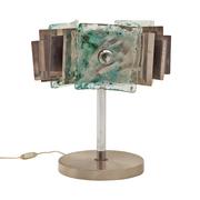 Tischlampe von Barovier e Toso für Saporiti, Italien, 1960er
