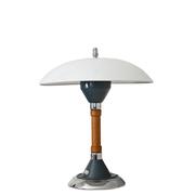 Militaria-Tischlampe Firma Kaiser/Idell, 1940er Jahre