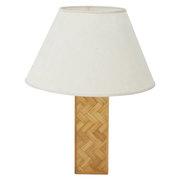 Bamboo Tischlampe, Italien 1970er Jahre
