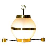 Tischlampe, attr. Ignazio Gardella, Italien 1950er Jahre