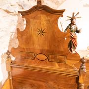 Barockes Bett, 18. Jahrhundert