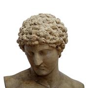 Antikenkopie des kapitolinischen Antinoos, 19. Jhd.