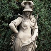 Gartenstatue Minerva