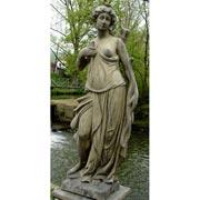 Gartenfigur: Diana