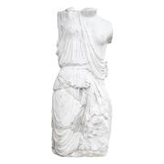 Massiver, weiblicher Marmortorso nach antikem Vorbild, Ende 20. Jhd.