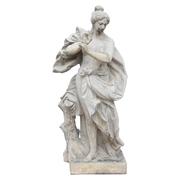 Lebensgroße Statue einer Frau nach barocken Vorbild