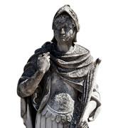 Römischer Soldat mit Feder