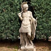 Gartenstatue Centurio