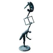 Bronzefigur 'Akrobaten', 21. Jahrhundert