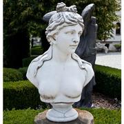 Weibliche Marmorbüste , Spätes 20. Jahrhundert