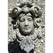 Garten- Dekoration: Jugendstil-Konsole