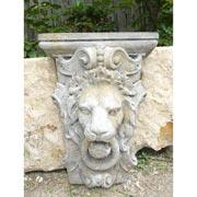 Relief Löwenkopf
