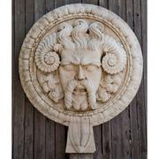 Wandrelief aus Marmor, Italien 21. Jahrhundert