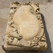 Sandstein Ornament, deutsch 18. Jahrhundert