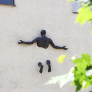 Wandskulptur Bronze, 21. Jahrhundert