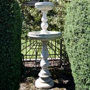 Etagenbrunnen aus Marmor, Italien/Sizilien 19. Jahrhundert