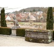 Sandstein Brunnenbecken, Deutsch 18. Jahrhundert