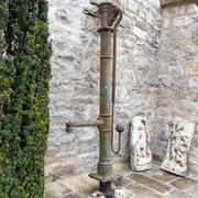 Brunnenpumpe, Deutsch um 1900
