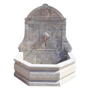 Wandbrunnen aus Marmor, 21. Jhd