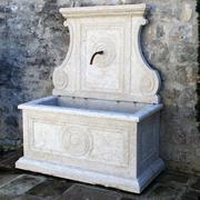 Wandbrunnen aus Giallo d'Istria