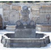 Wandbrunnen im Barockstil, 21. Jahrhundert