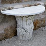 Marmor Wandkonsole, Italien 1970er