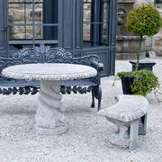 Gartentisch mit Bank, 21. Jahrhundert