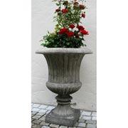 Garten - Vase, kanneliert
