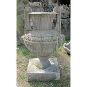 Antike Sandsteinvase