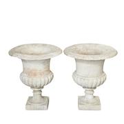 Italienische Vasen, Ligurien/Genua Mitte 19. Jahrhundert