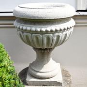 Sandstein Vase, 21. Jahrhundert