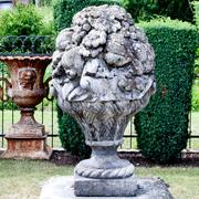 Fruchtkorb Eden mit Patina, 20. Jahrhundert