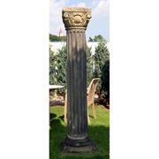 Paar korinthische Sandstein-Säulen