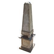 Obelisk aus Naturstein, 20. Jahrhundert