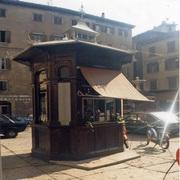 Historischer Kiosk, Italien Rovereto 1910