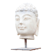 Indonesischer Buddhakopf, 20./21. Jhd.