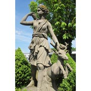 Sandsteinstatue Diana