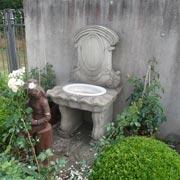 Wandbrunnen in Anlehnung an das 16. Jahrhundert